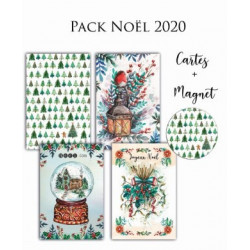 Pack Carte postale et...